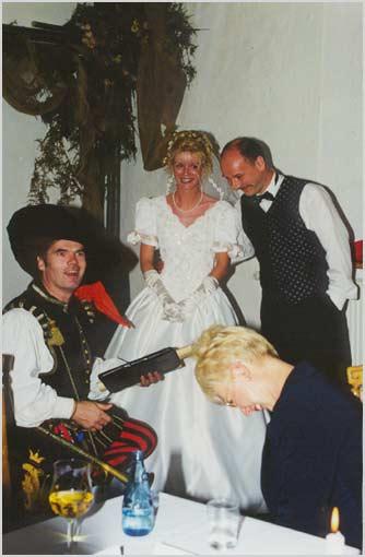 Mittelalterliche Hochzeit